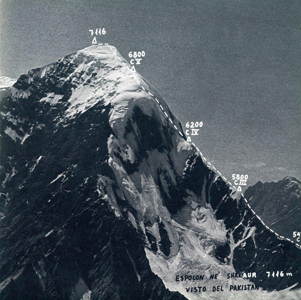 Espolón NE Shakaur 7116 m